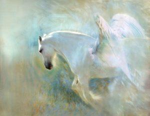 Pegaso, caballo alado de Zeus