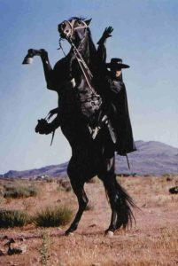 Tornado, el caballo negro de El Zorro
